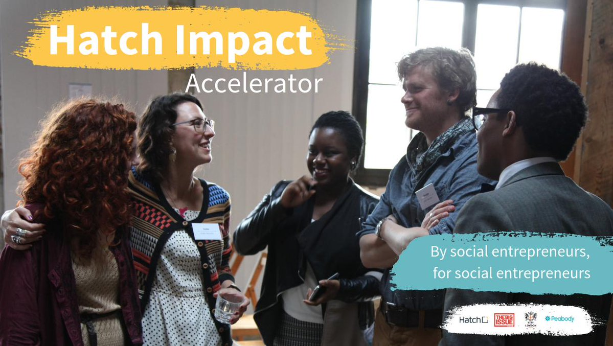 2019 Hatch Impact Accelerator Program for Social Enterprise