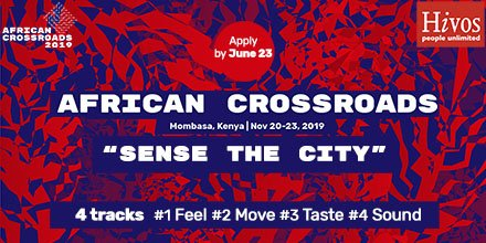 2019 Hivos African Crossroads Program for Young Africans