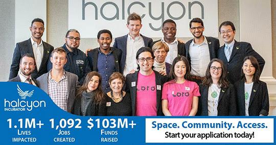 2020 Halcyon Incubator Fellowship for Early-Stage Social