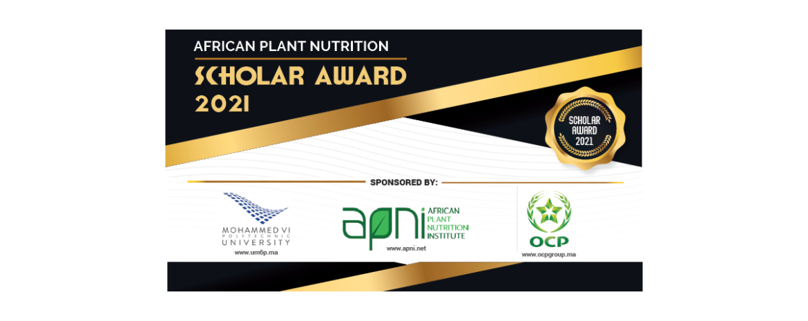 2021 African Plant Nutrition Scholar Award Program