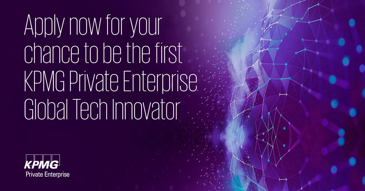 2021 KPMG Private Enterprise Global Tech Innovator Competition